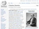 Wikipedia: Charles Darwin.