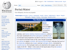 Wikipedia: water portal.