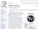 The Apollo missions on the Wikipedia.