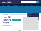 How oil refining works.