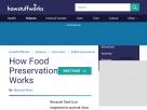 How food preservation works.