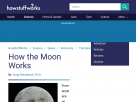How the Moon works.