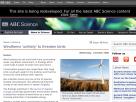 Windfarms unlikely to threaten birds.