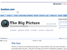 The Big Picture: the Sun.