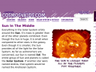 The Sun in Cosmos4kids.com.