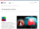 The respiratory system at Faqs.org.