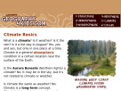 Weather and climates in Geography4kids.com.