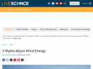 5 myths about wind energy.