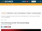 The chemistry of life: the human body.