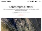 Landscapes of Mars.