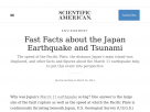 Fast Facts about the Japan Earthquake and Tsunami.