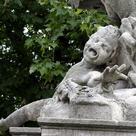 Acid rain damaged monument