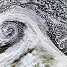 Formation of cyclones in tandem over Iceland