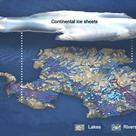 Lakes and rivers under the Antarctica ice sheet