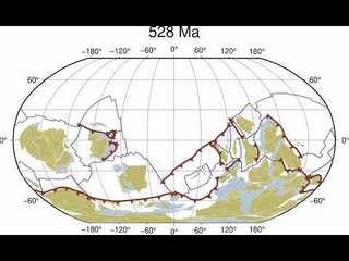 1 billion years of tectonic movement